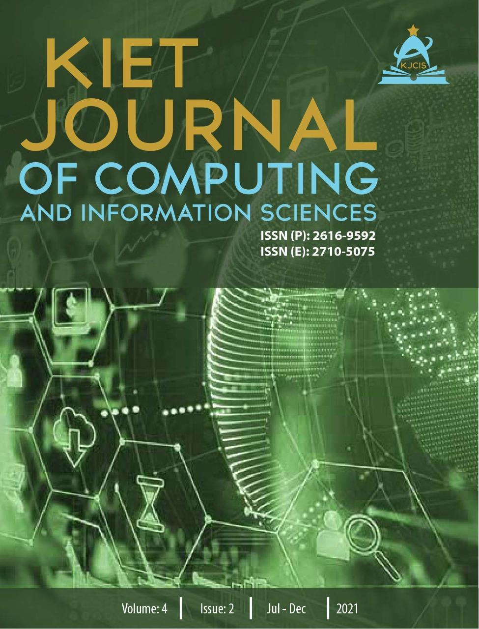 View Vol. 4 No. 2 (2021): KJCIS Volume 4 | Issue 2 | July - Dec | 2021